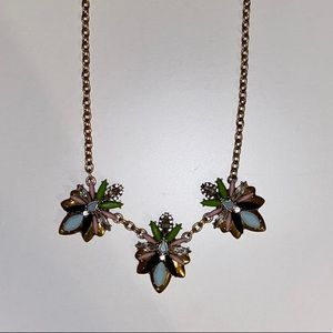 jcrew star statement necklace